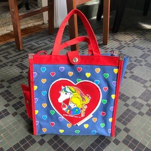 Vintage Rainbow Brite Purse Bag
